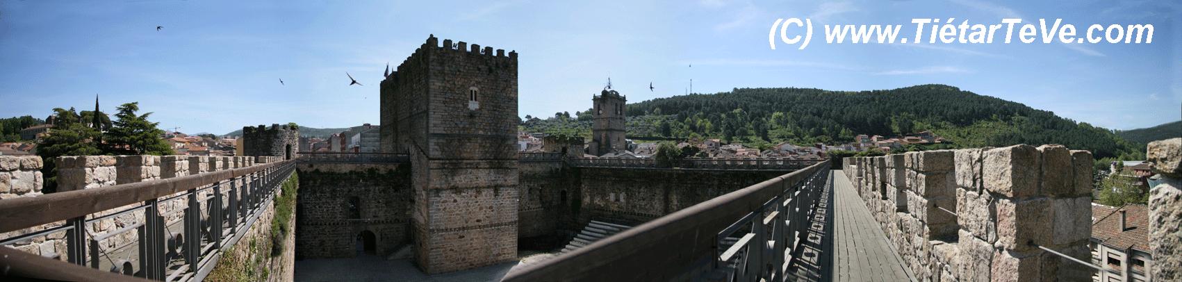 Bienes de Interés Cultural - Vistas interiores desde el Adarve del Castillo