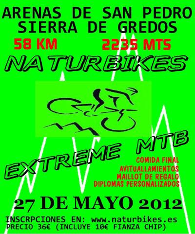 Naturbikes Extreme MTB Arenas de San Pedro