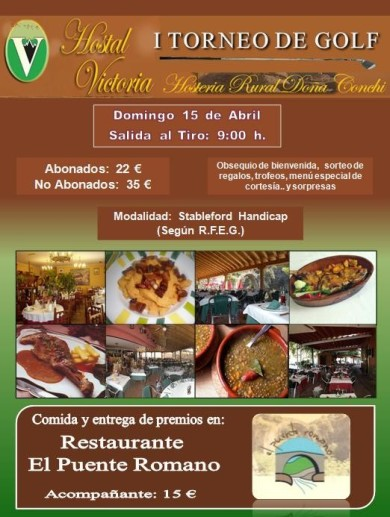I Torneo Hostal Victoria - Hostería Rural doña Conchi