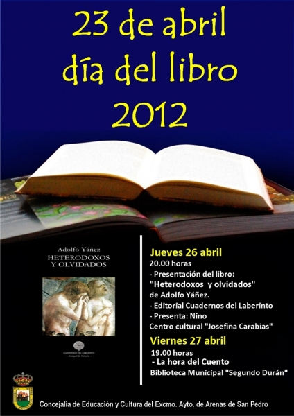 Día del Libro 2012 en Arenas de San Pedro