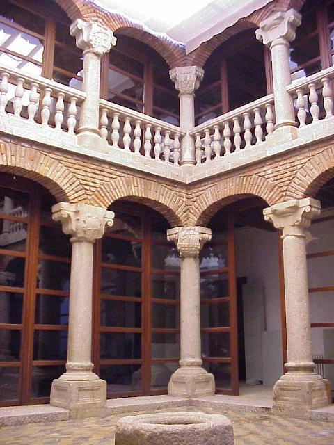 Patio del Museo de Ávila