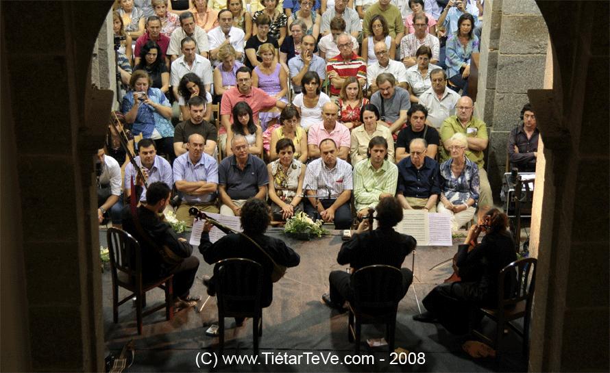 """""""La Ritirata"""" en el Palacio Real del Infante don Luis de Borbón el 25 de Agosto de 2008"""