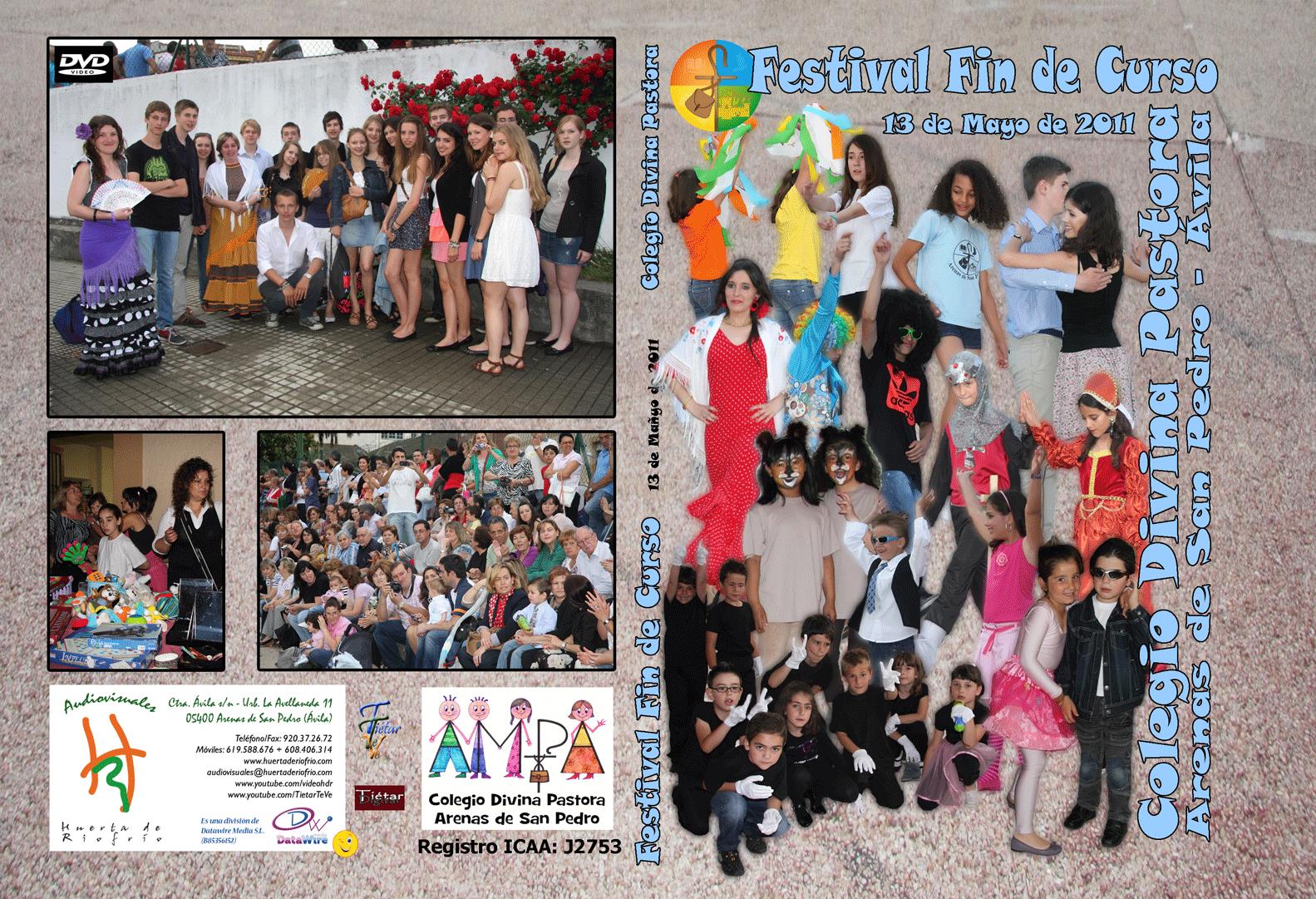 Festival de Fin de Curso 2011 Colegio Divina Pastora de Arenas de San Pedro