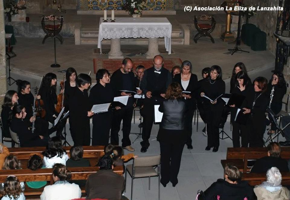 2012-05-05 Concierto Orquesta y Coros Escuela de Música Luigi Boccherini en Lanzahíta - Coros