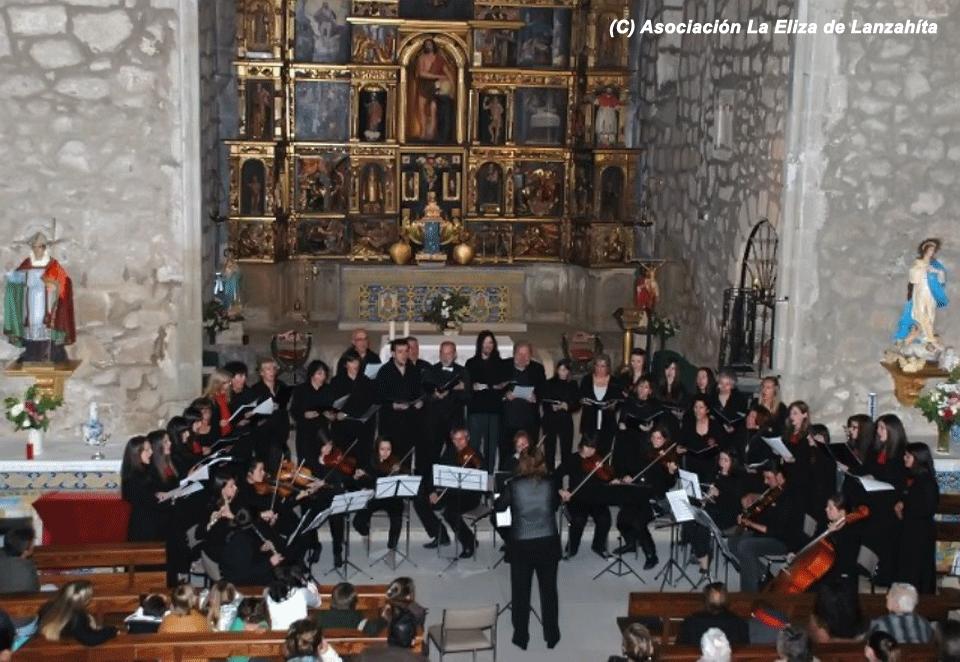 2012-05-05 Concierto Orquesta y Coros Escuela de Música Luigi Boccherini en Lanzahíta