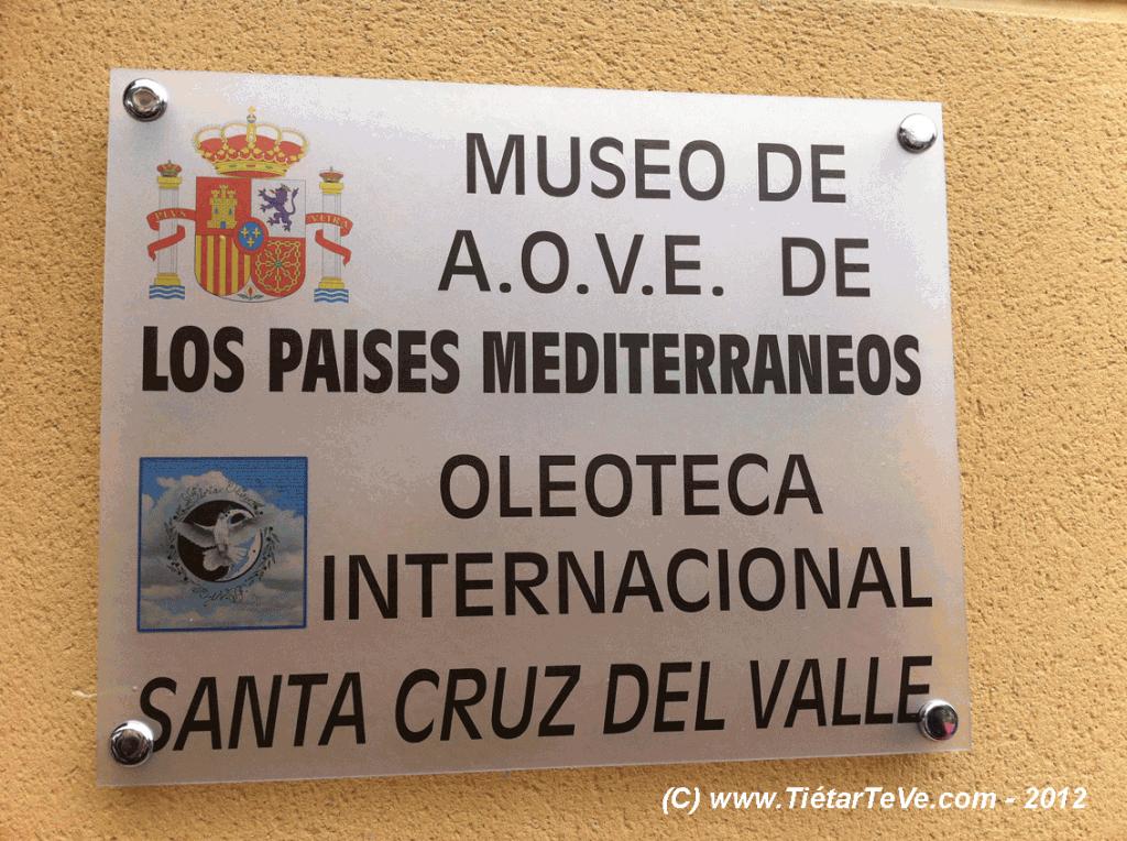Museo del Aceite de Oliva Virgen Extra y Oleoteca Santa Cruz del Valle