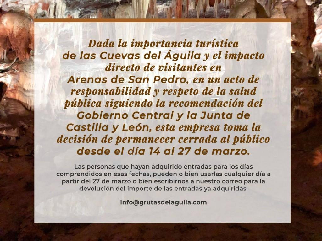 Cierre Cuevas del Águila - Arenas de San Pedro - Ramacastañas - TiétarTeVe