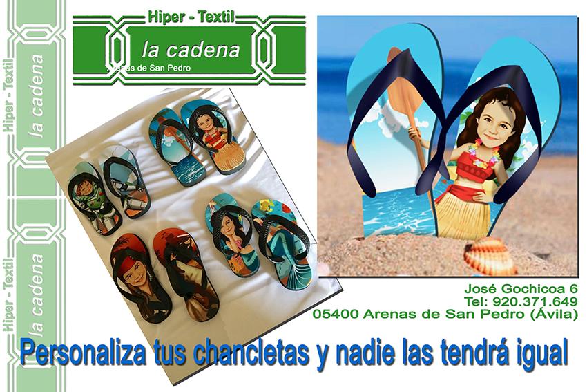 Chancletas HiperTextil La Cadena - Arenas de San Pedro - TiétarTeVe