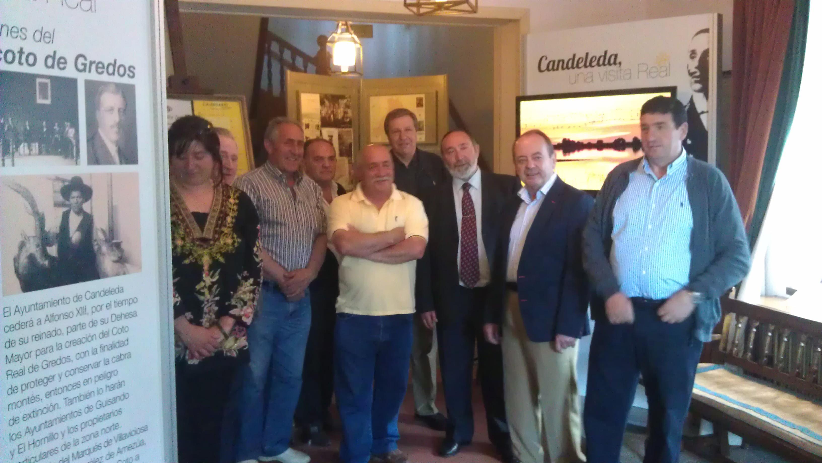 """Inauguración de la Exposición """"Candeleda, una visita Real"""" en el Parador de Gredos"""