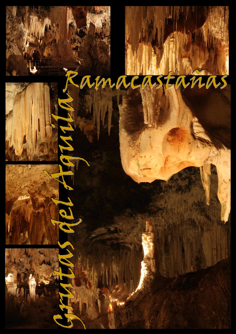 Póster de las Grutas del Águila - Ramacastañas - Arenas de San Pedro - TiétarTeVe