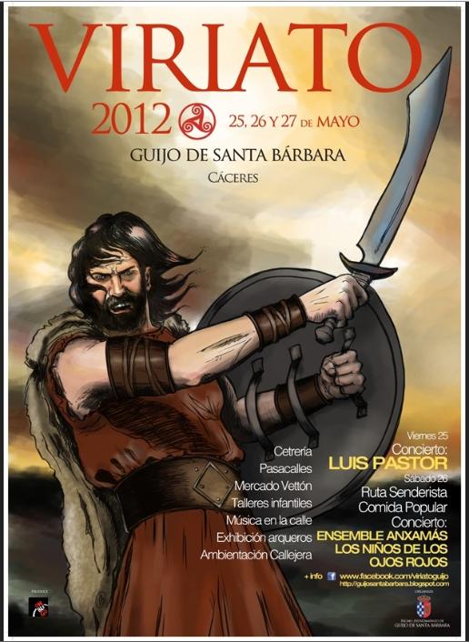VI Fiestas de Viriato 2012 en Guijo de Santa Bárbara