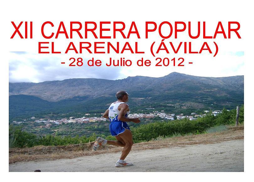 XII Carrera Popular El Arenal 2012