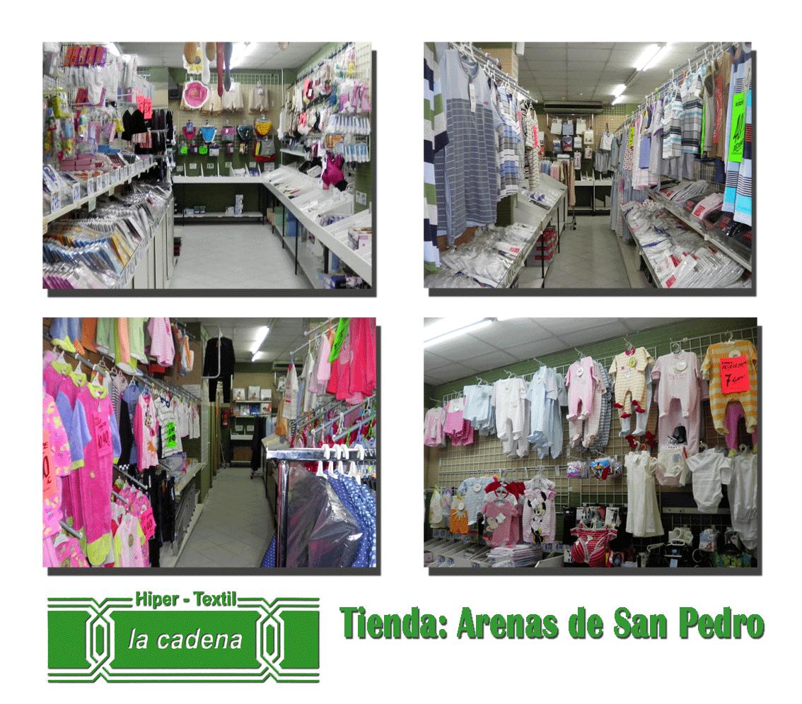 Hiper Textil La Cadena - Arenas de San Pedro
