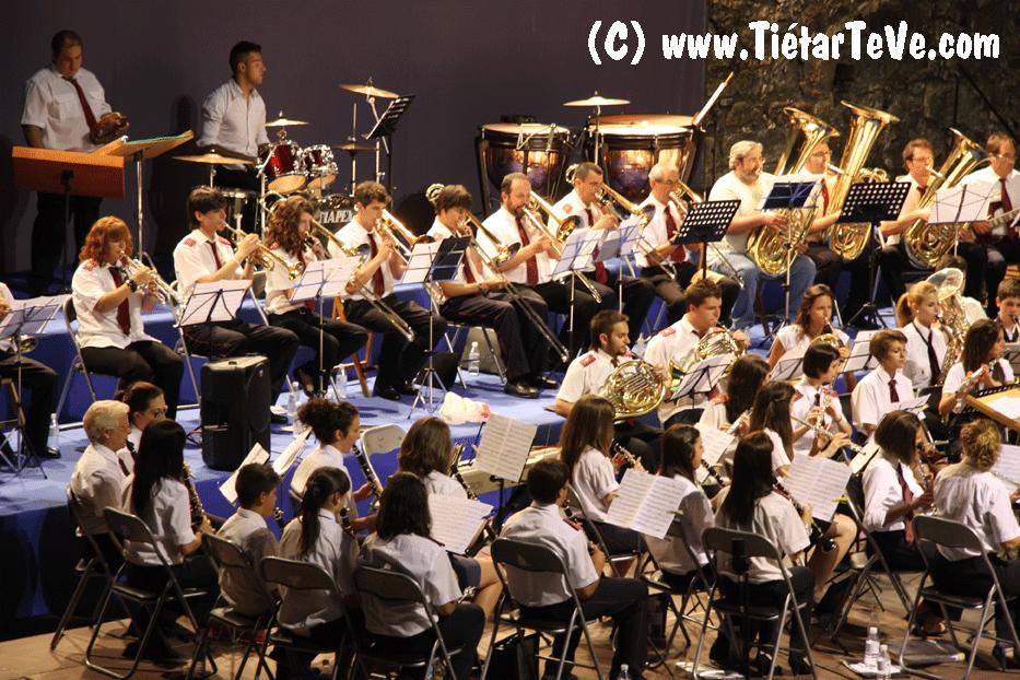 Último encuentro de Bandas en Arenas con la Banda de Esquivias el 2 de Julio de 2011