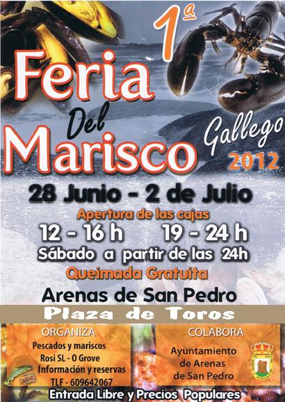 I Feria del Marisco de Arenas de San Pedro