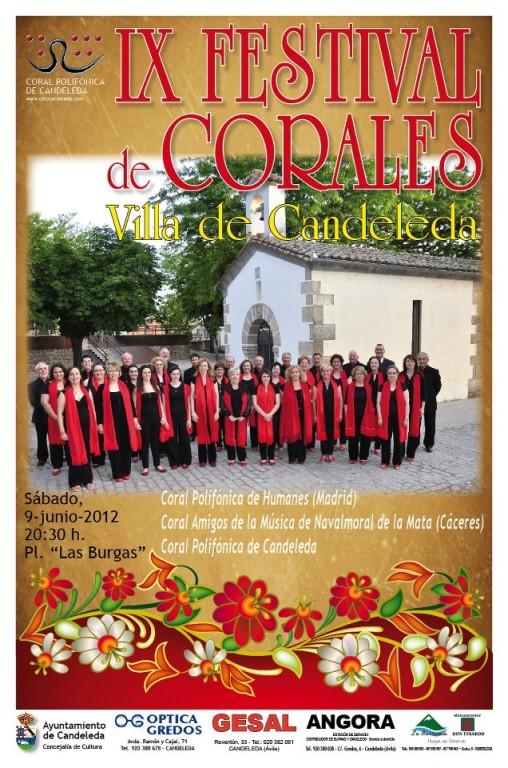Festival Corales Candeleda 2012