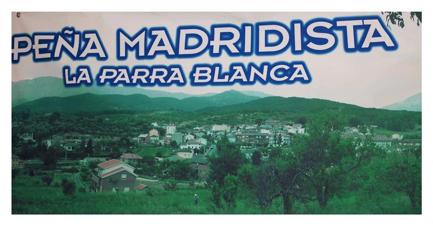 Logo Peña Madridista La Parra Blanca