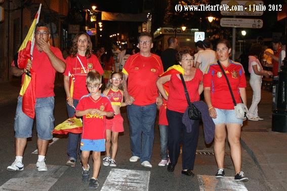 España Campeona de la Eurocopa 2012 en Arenas de San Pedro