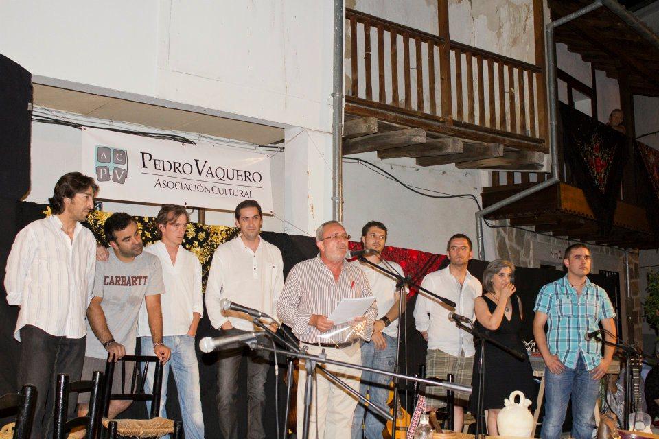 Socios Fundadores de la Asociación Cultural Pedro Vaquero