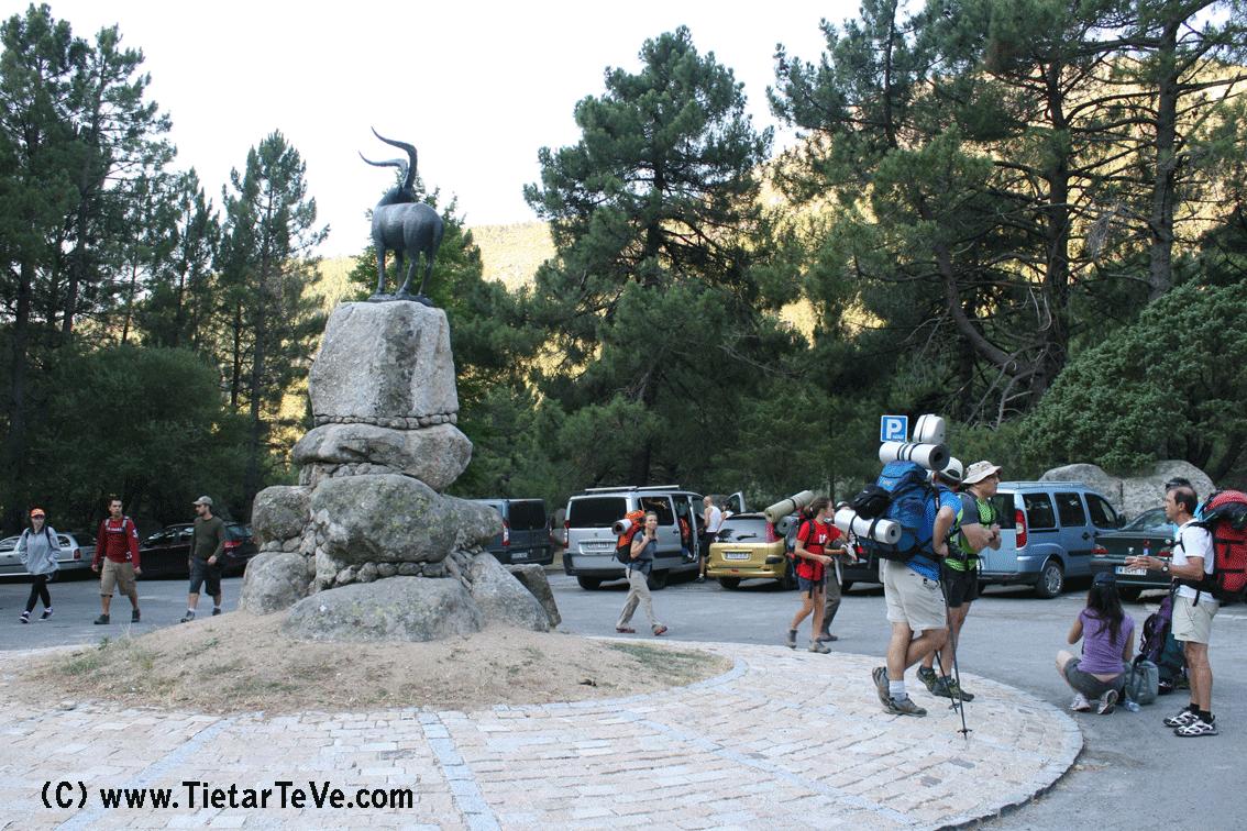 2012-07-21 En el Nogal del Barranco - Iniciando la Ruta