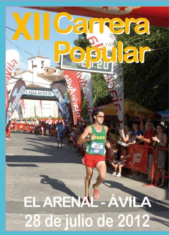 XII Carrera Popular de El Arenal - Ávila - 2012