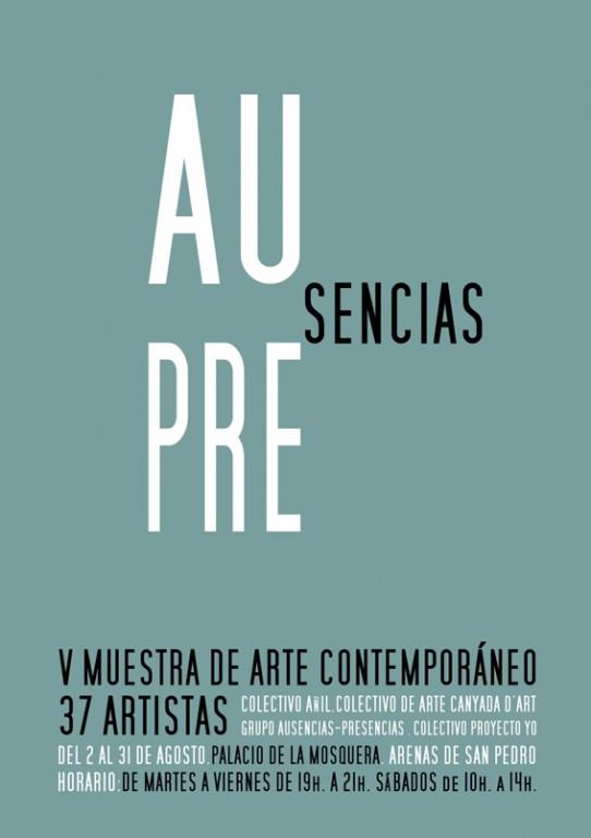 Ausencias Presencias en el Palacio de la Mosquera de Arenas de San Pedro