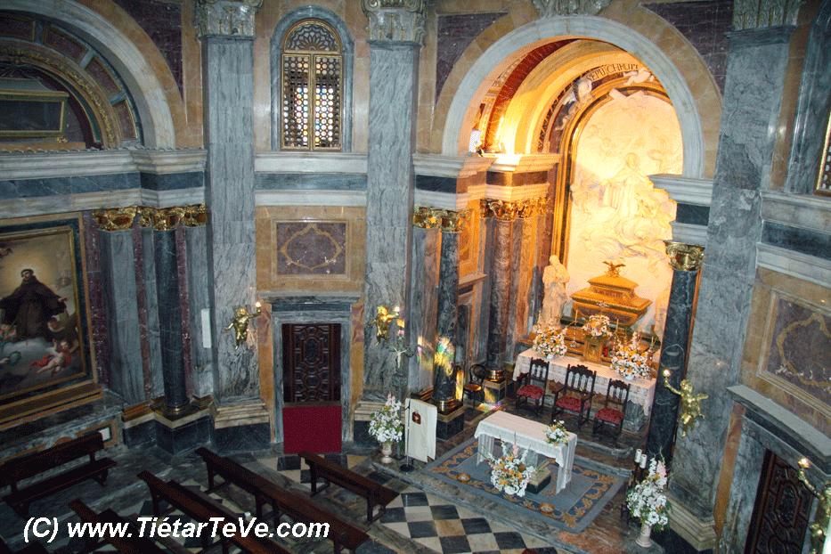 Capilla Real Santuario San Pedro de Alcántara - Arenas de San Pedro - TiétarTeVe