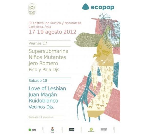 Cartel ECOPOP 2012 Candeleda