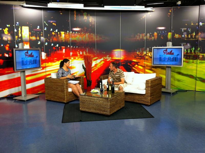 Oleoteca Internacional de Gloria Olivae en Ávila8 Televisión
