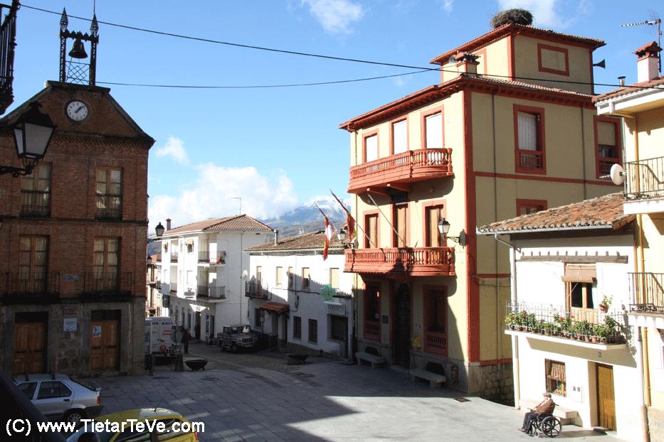 Plaza del Ayuntamiento de Santa Cruz del Valle - Ávila