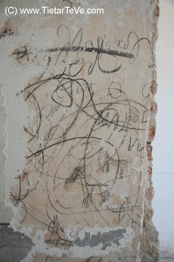 Pinturas Napoleónicas del Palacio de la Mosquera de Arenas de San Pedro