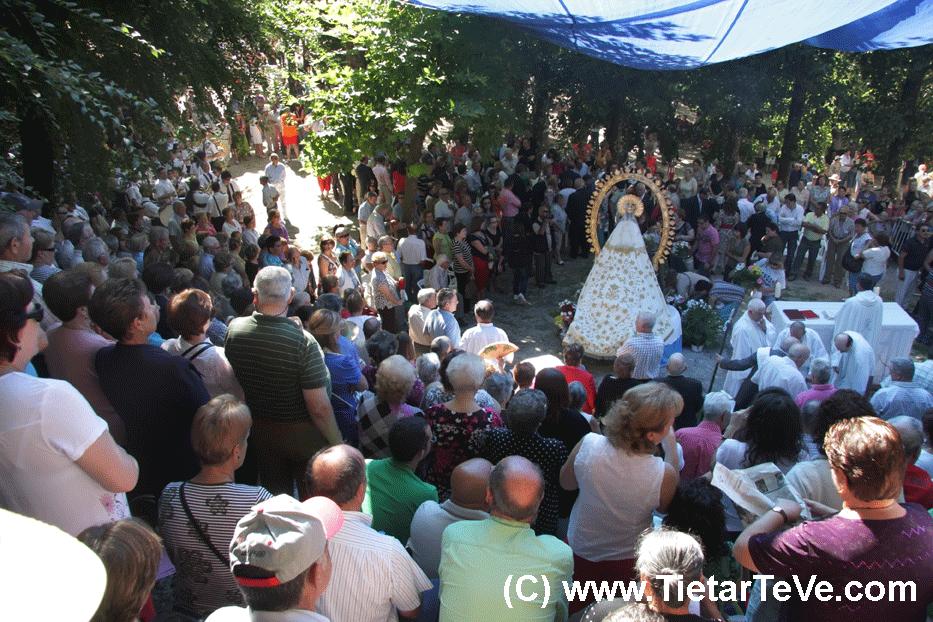 Fiestas de la Vela en honor a la Virgen de Chilla de Candeleda
