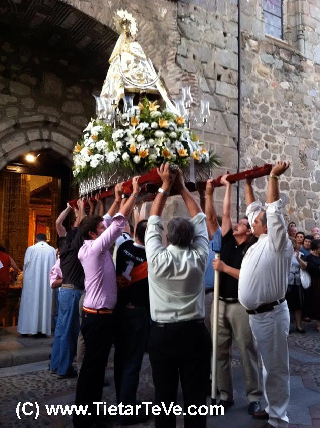 Virgen del Pilar de Arenas de San Pedro