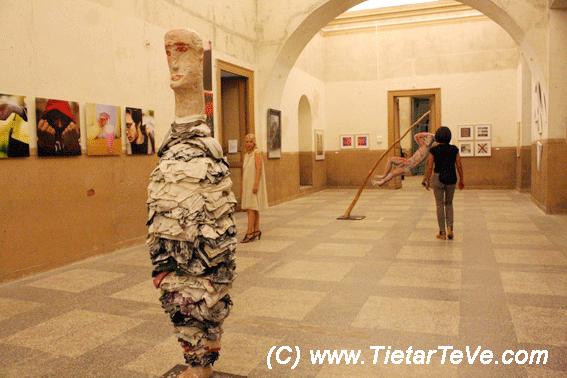 Inauguración III Jornadas Palaciegas y V Muestra de Arte Contemporáneo