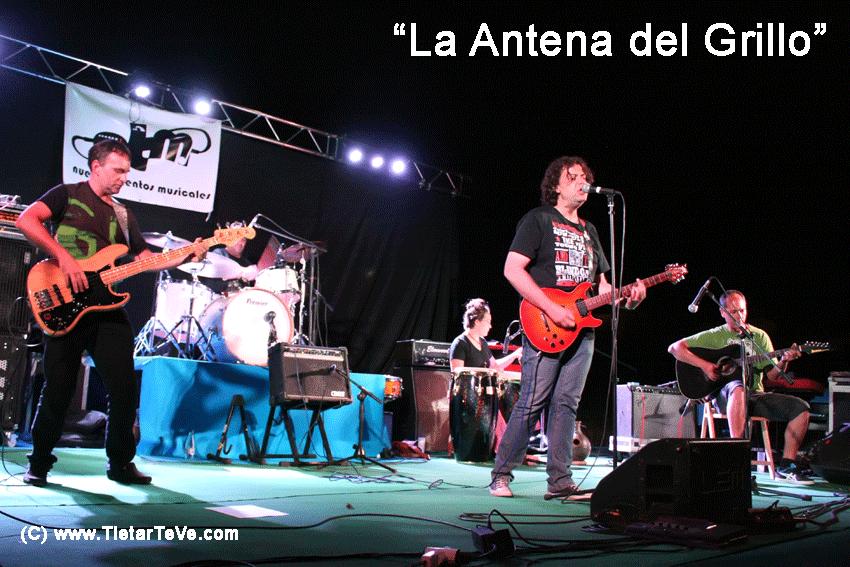 2012-08-03 Nuevos Talentos Musicales - La Antena del Grillo