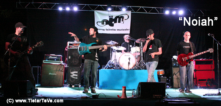 """2012-08-03 Nuevos Talentos Musicales - """"Noiah"""""""