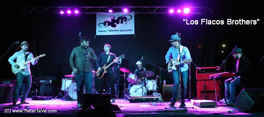"""2012-08-04 Nuevos Talentos Musicales - """"Los Flacos Brothers"""""""