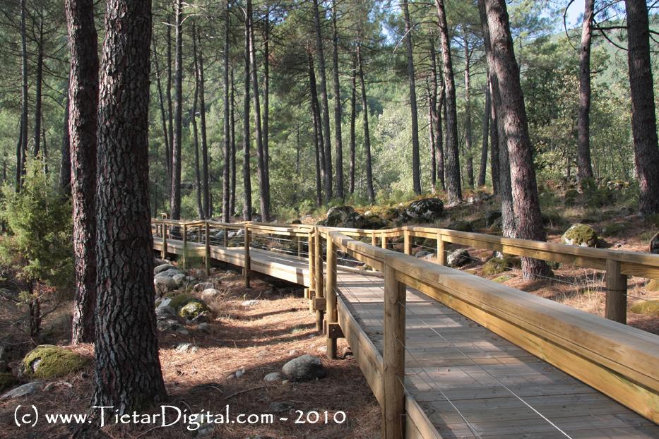 Senda de la Casa del Parque El Risquillo de Guisando
