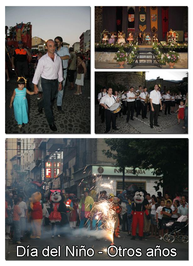 Día del Niño 2012 Arenas de San Pedro - Años anteriores