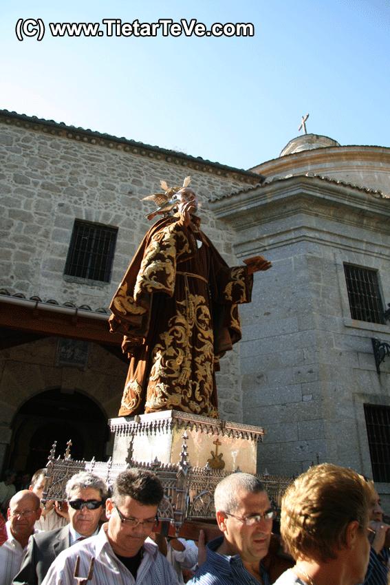 Procesión por el Campillo del Santuario de San Pedro de Alcántara