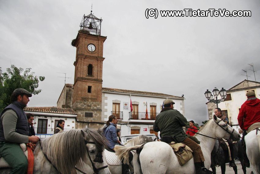 Romería de San Pedro de Alcántara - Llegada a Parrillas