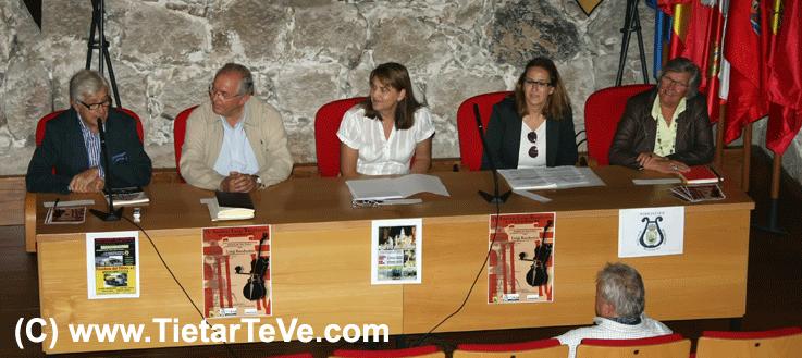 Presentación del Festival Luigi Boccherini de Arenas de San Pedro