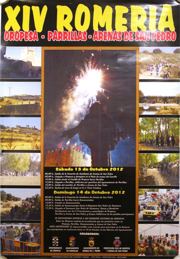 2012-10-13 y 14 Romería de Oropesa al Santuario de San Pedro de Alcántara