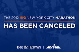 Cancelado maraton NY