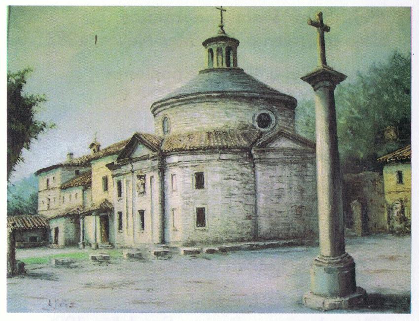 Cuadro del Santuario de San Pedro de Alcántara