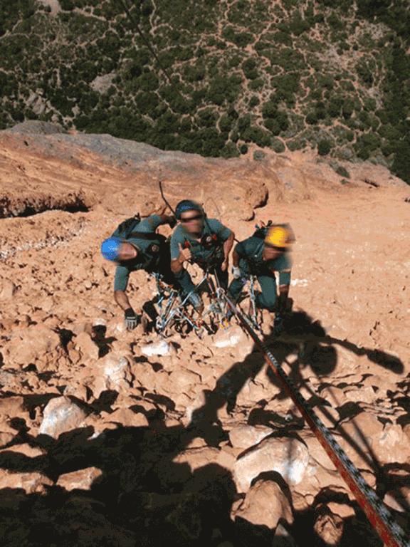 Equipo de Rescate Especialista de Intervención en Montaña (Ereim) de la Guardia Civil