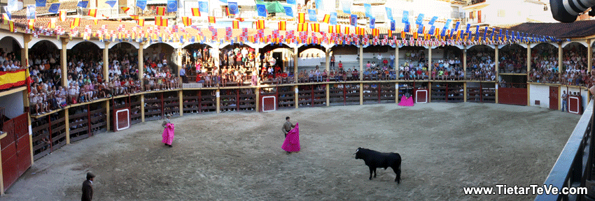 Panorámica de la Plaza de Toros de Pedro Bernardo