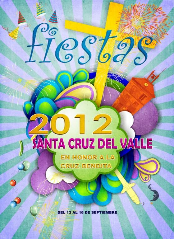 Fiestas en honor a la Cruz Bendita en Santa Cruz del Valle 2012