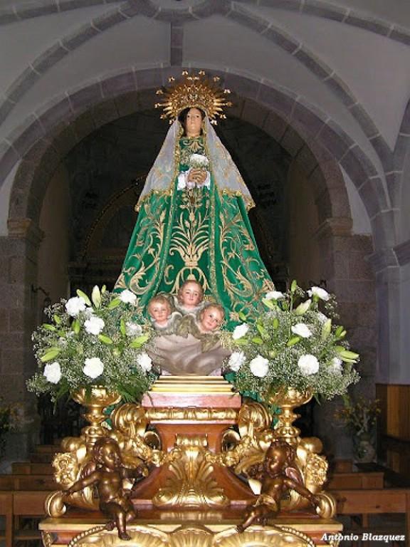 Virgen de Gracia de Villarejo del Valle - Foto: Antonio Blázquez