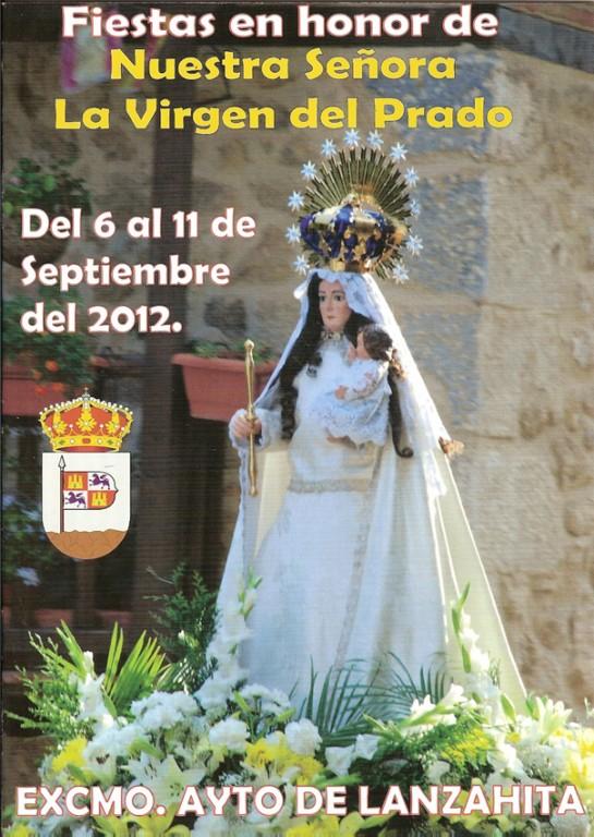 Libro de fiestas Virgen del Prado 2012 en Lanzahíta